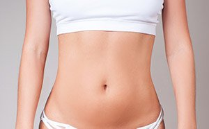 body contouring on stomach before picture
